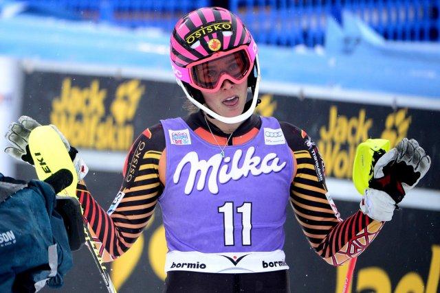 Marie-Michèle Gagnon a terminé cinquième à la Coupe... (Photo Olivier Morin, AFP)