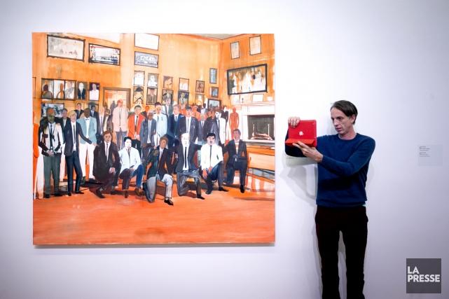 L'oeuvre Boys' Club (acquise par le MBAM grâce... (Photo: Marco Campanozzi, La Presse)