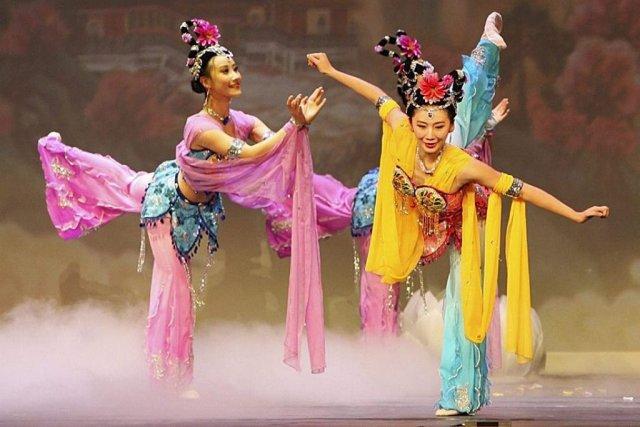 Le lien entre le Falun Dafa et Shen... (Photo: fournie par Shen Yun/AP)