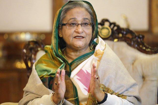 La première ministre Sheikh Hasina.... (PHOTO ANDREW BIRAJ, REUTERS)