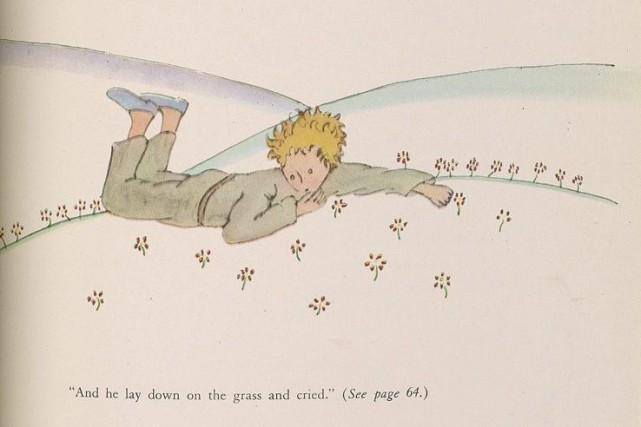 Un extrait du célèbre conte Le petit prince... (AP)