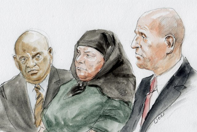 Colleen LaRose, 50 ans, convertie à l'Islam, avait... (ILLUSTRATION ART LIEN, REUTERS)