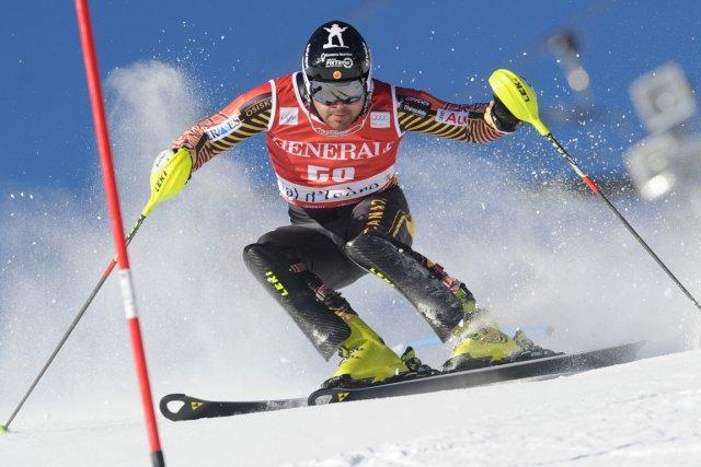 Parti 45e au slalom de Bormio lundi, Julien... (Photo Marco Tacca, archives AP)