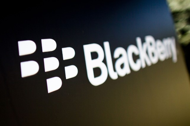 Le fabricant de téléphones intelligents en difficultés BlackBerry a remporté le... (PHOTO ARCHIVES REUTERS)