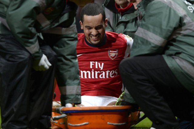 Theo Walcott... (Photo Dylan Martinez, Reuters)