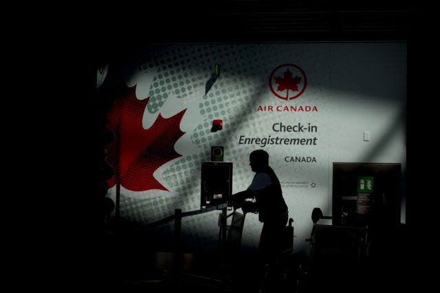 Les avions d'Air Canada (T.AC.B)ont volé avec un nombre sans... (PHOTO BLOOMBERG)
