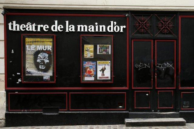 Dieudonné a déjà rôdé à Paris, dans son... (Photo: Reuters)