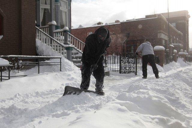 Les services météo ont fait état lundi des... (Photo REBECCA COOK, Reuters)