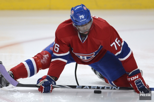 Le talent offensif de P.K. Subban ne fait... (Photo Bernard Brault, La Presse)