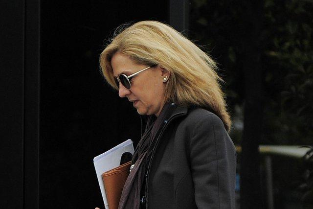 La fille du roi Juan Carlos, l'infante Cristina.... (PHOTO MANU FERNANDEZ, ARCHIVES AP)