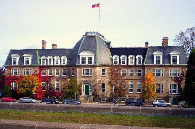 Le bâtiment d'une faculté de l'Université du Nouveau-Brunswick.... (Photo Wikimedia Commons)