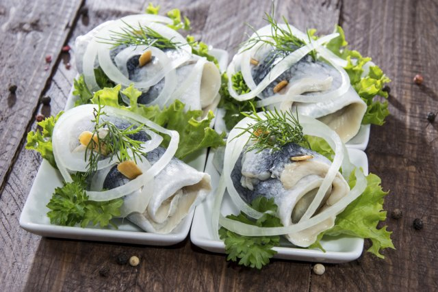 Les poissons goûteux comme le hareng seront très... (Photo Digital/Thinkstock)