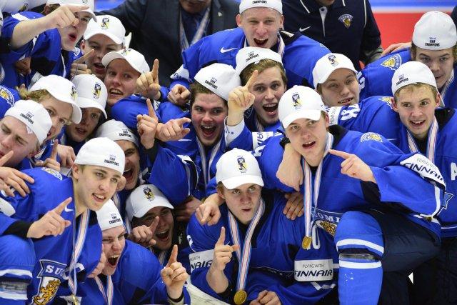 Les Finlandais ont remporté le Championnat du monde... (Photo AP)