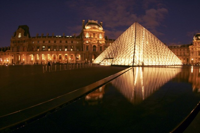 Le Louvre... (Photo: archives AFP)