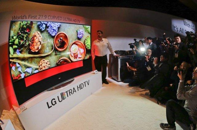 Dans le cadre du Consumer Electronic Show (CES),... (Photo Julie Jacobson, AP)