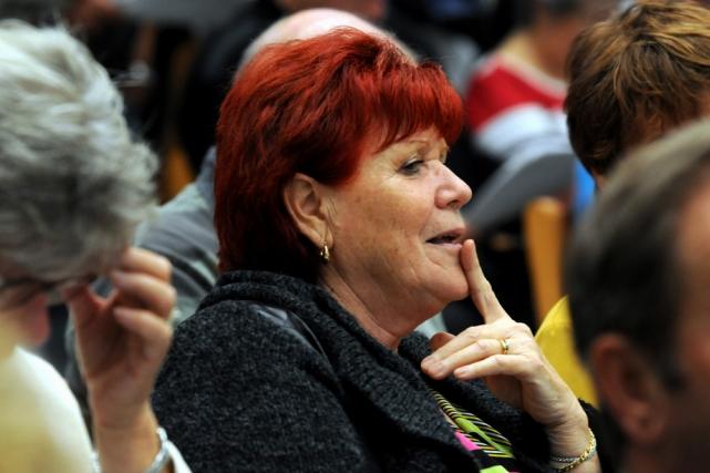 Diane Borgia est la porte-parole du mouvement Shawinigan... (Photo: François Gervais, Le Nouvelliste)