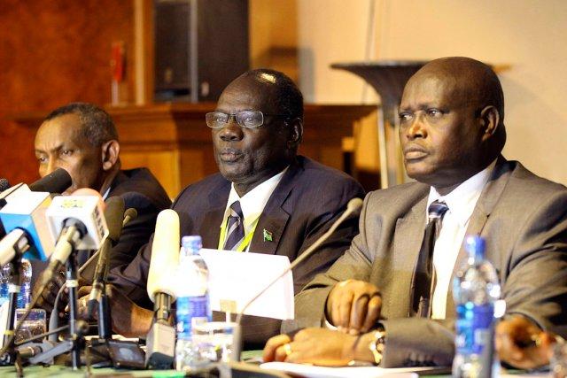 Le Kenyan Lazarus Sumbeywo, responsable de l'Autorité intergouvernementale... (PHOTO SOLAN GIMECHU, AFP)