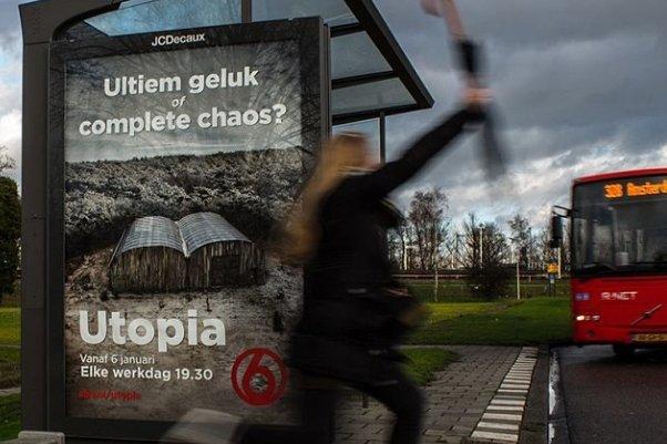 Utopia, la nouvelle série de téléréalité du créateur néerlandais de... (Photo: site internet de l'émission)