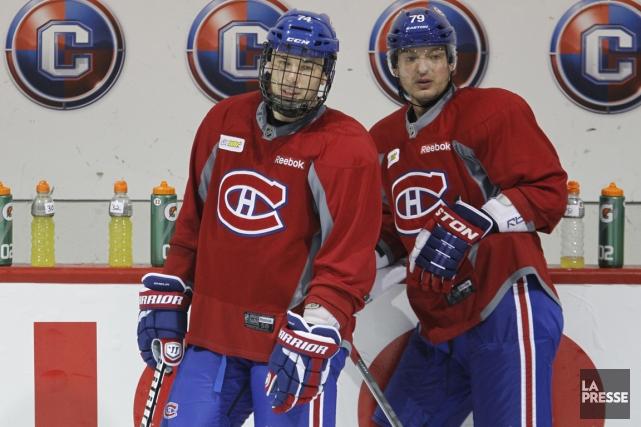 Alexei Emelin et Andrei Markov... (Photo Martin Chamberland, archives La Presse)