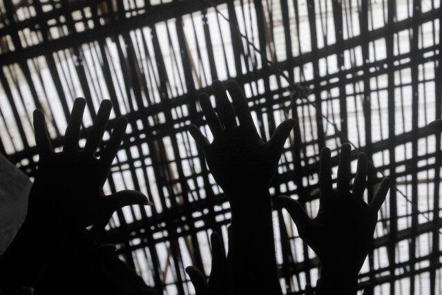 Le système carcéral brésilien est régulièrement dénoncé par... (Photo Ricardo Moraes, Reuters)