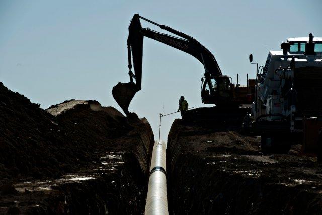 Le projet d'oléoduc qui transporterait le pétrole lourd... (PHOTO DANIEL ACKER, ARCHIVES BLOOMBERG)