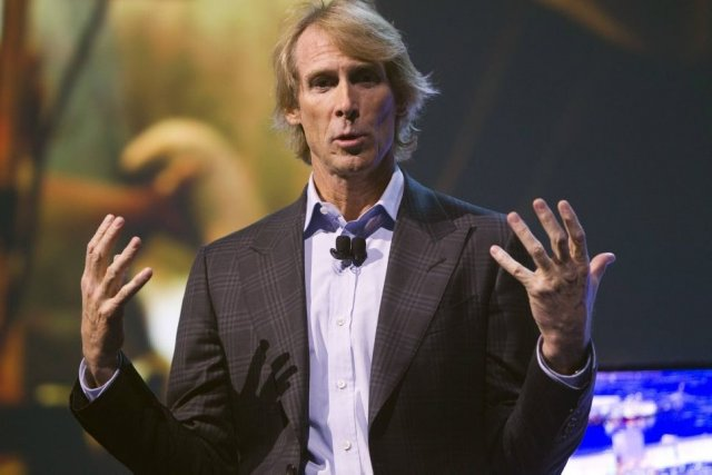 Michael Bay au Consumer Electronics Show (CES) de... (Photo: Reuters)