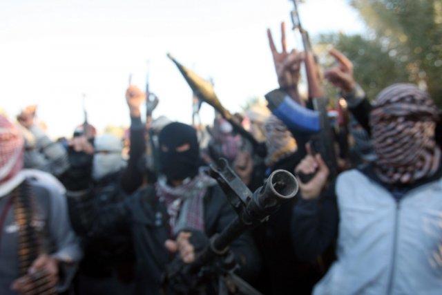 Des combattants liés à Al-Qaïda ont pris ces... (Photo AP)