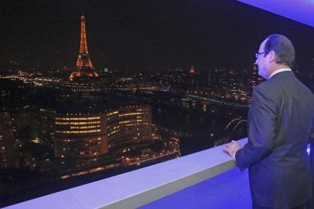 Le président de la France, François Hollande, à... (Photo: Reuters)