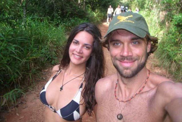 Monica Spear Mootz et son compagnon Thomas Henry... (Photo tirée de Facebook)