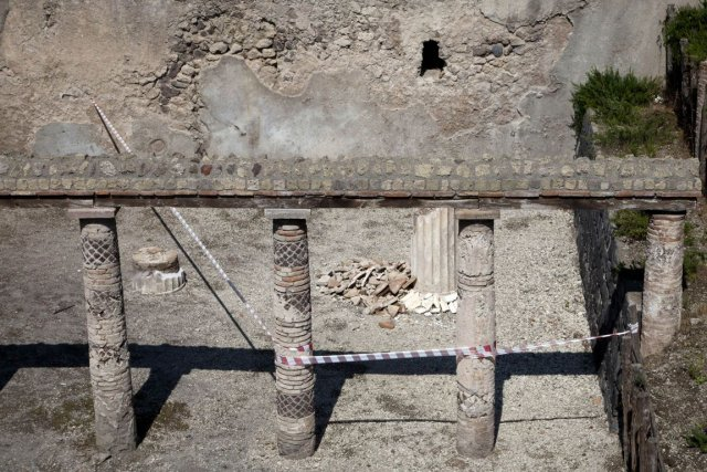 L'équipe d'archéologues de Cincinnati a effectué des fouilles... (Photo Carlo Hermann, Archives AFP)