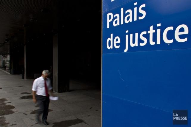 Pierre Chauvette était constable spécial au palais de... (Photo Olivier Jean, Archives La Presse)