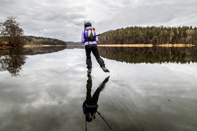 «Dans le Nord, l'hiver est arrivé, mais, dans... (PHOTO TOBIAS ROSTLUND, AFP/TT)