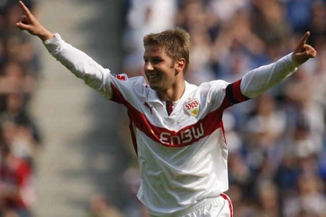 Thomas Hitzlsperger a disputé 52 matchs avec l'équipe... (Photo Ina Fassbender, archives Reuters)