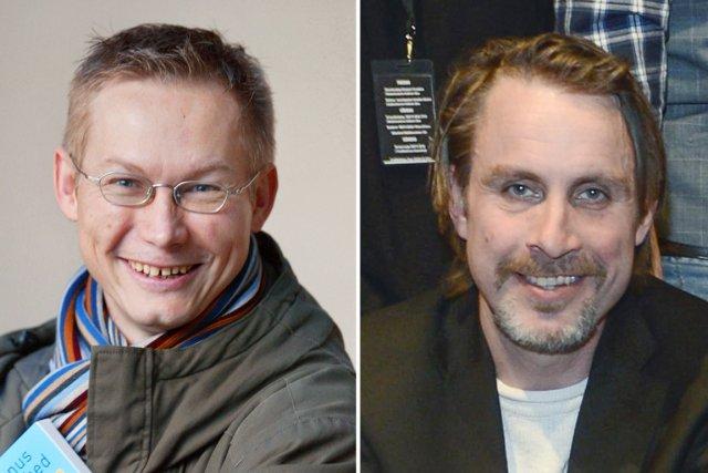 Les deux Suédois libérés sont le photographe indépendant... (PHOTOS AFP ET TT)