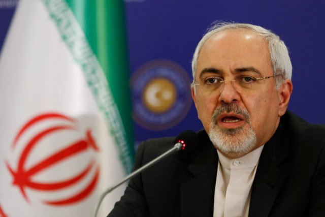 Le chef de la diplomatie iranienne, Mohammad Javad... (PHOTO MURAD SEZER, REUTERS)