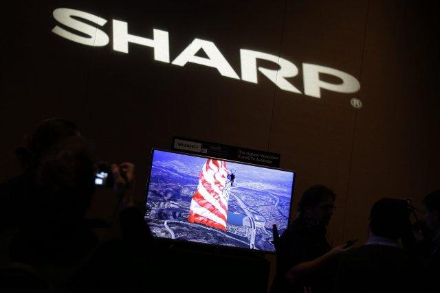 Dans le domaine de la télévision, Sharp propose... (Photo Isaac Brekken, AP)
