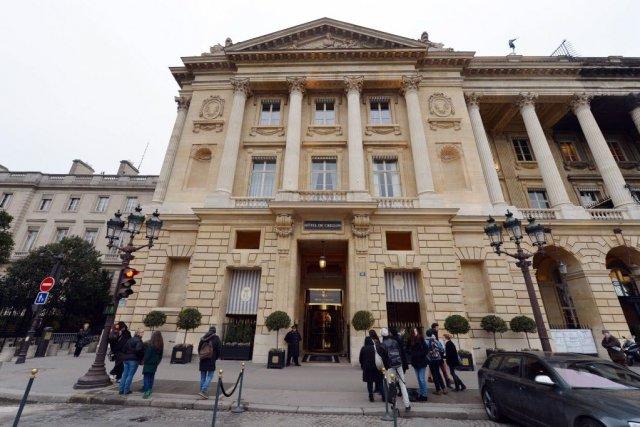 L'hôtel de Crillon à Paris, fermé pour travaux... (Photo Miguel Medina, AFP)