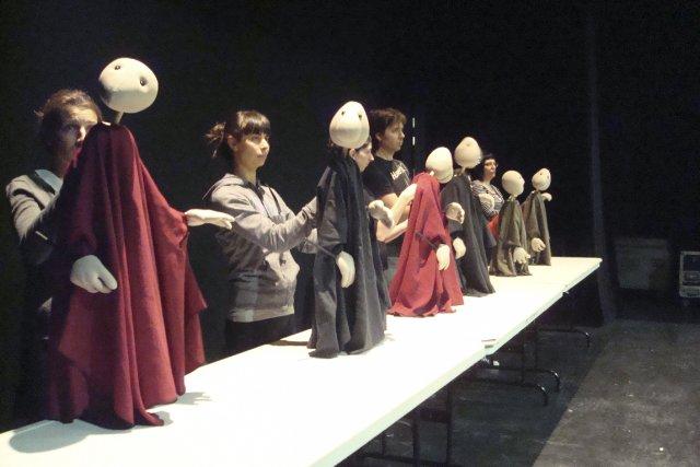 Des professionnels du milieu du théâtre ont suivi... (PHOTO FOURNIE PAR TAC Théâtre)