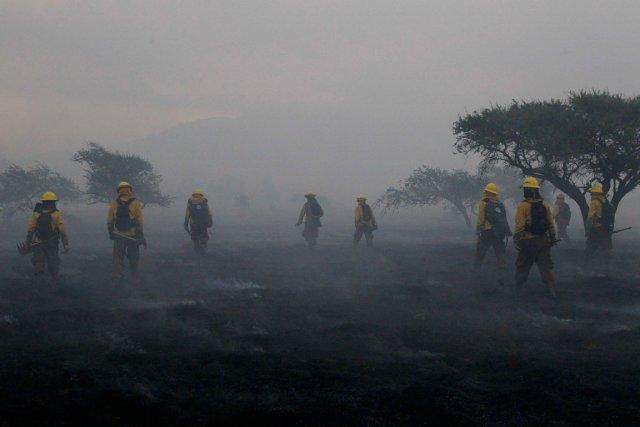 Ces feux, qui ont pris naissance au cours... (Photo Ivan Alvarado, Reuters)