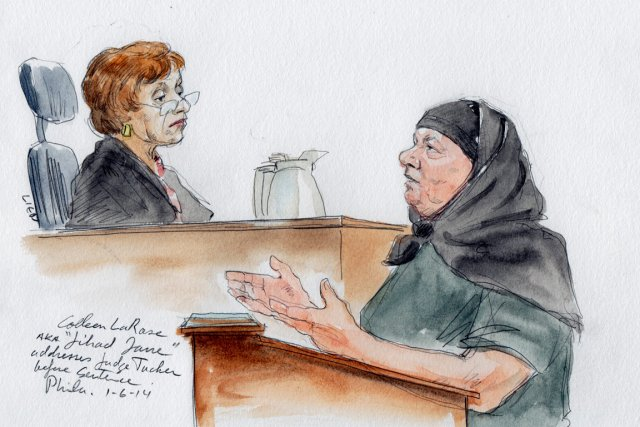 Colleen Larose, qui s'était baptisée «Jihad Jane», a... (Photo Art Lien, Reuters)