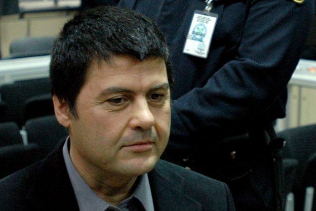 ChristodoulosXiros lors de son procès en appel en... (Photo: AP)