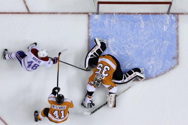 Relisez le clavardage du match entre le Canadien et les Flyers de Philadelphie... (Photo: AP)