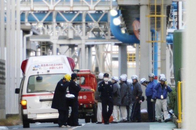 La police n'a pas encore débuté son enquête... (Photo KYODO, Reuters)