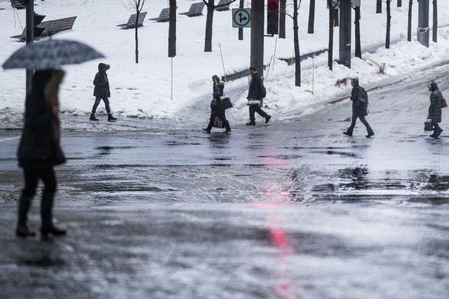 La météo des derniers jours avait ralenti considérablement... (PHOTO OLIVIER PONTBRIAND LA PRESS)