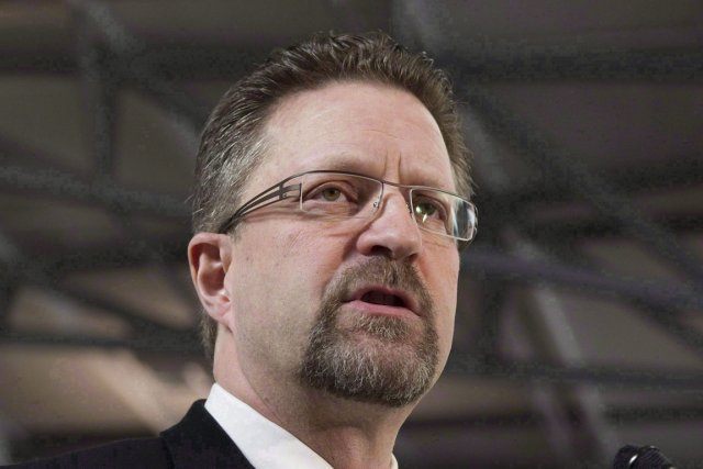 Chuck Strahl est lobbyiste pour le projet Northern... (Photo Adrian Wyld, La Presse Canadienne)