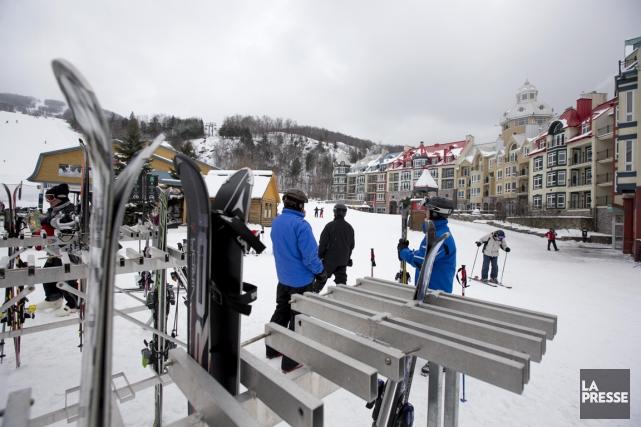 Depuis des années, Tremblant traîne une réputation de station pour skieurs... (PHOTO ALAIN ROBERGE, LA PRESSE)