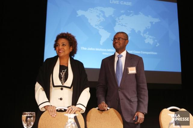 L'envoyée spéciale de l'UNESCO pour Haïti, Michaëlle Jean,... (PHOTO MARTIN CHAMBERLAND, LA PRESSE)