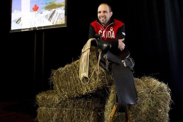Manuel Osborne-Paradis en sera à ses troisièmes Jeux... (Photo Nathan Denette, PC)