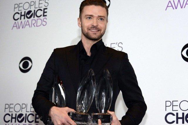 Justin Timberlake a remporté les prix du meilleur... (Photo: Reuters)