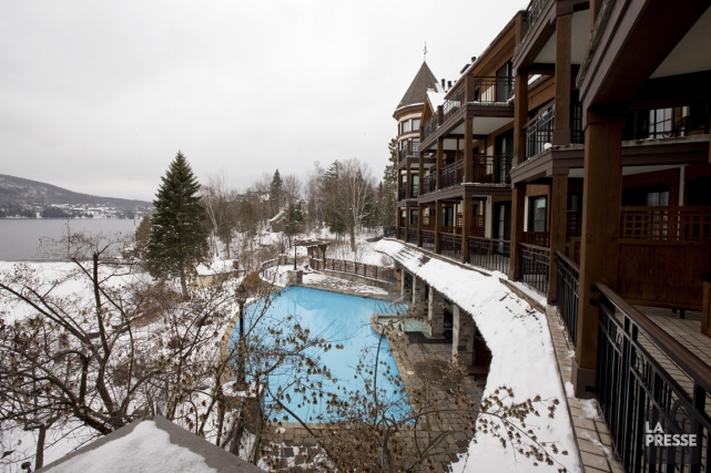 L'hôtel Quintessence offre une vue imprenable sur le... (PHOTO ALAIN ROBERGE, LA PRESSE)